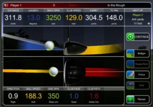 Jouer au golf intérieur avec TruTrac