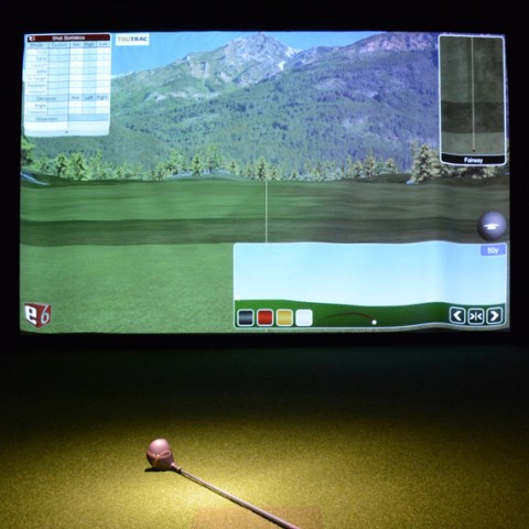 Golf sur écran
