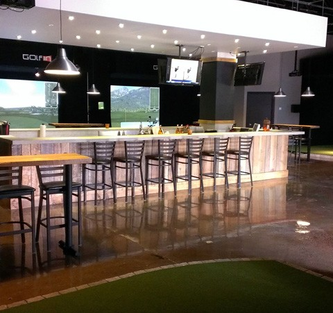 Golf virtuel bar