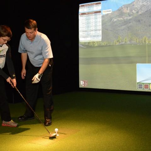 Cours de golf ado