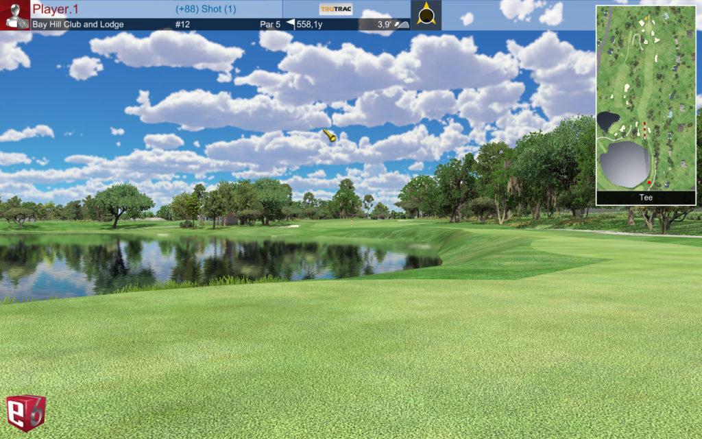 Bay Hill #12 @ Golfin Dorion Ligue golf intérieur individuelle