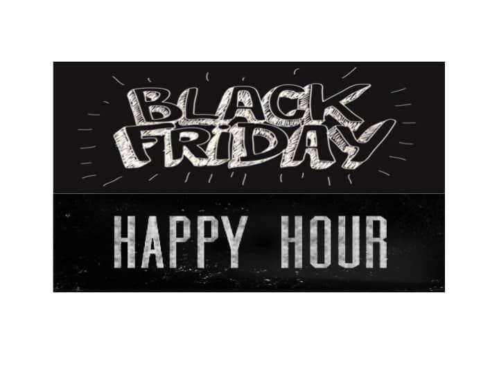 Black Friday Happy Hour @ GOLFIN Dorion