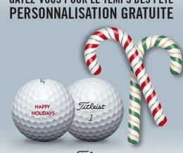 Promotion Balles de Golf Personnalisées